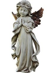 napco-praying-angel-with-bronze-wings-garden-statue
